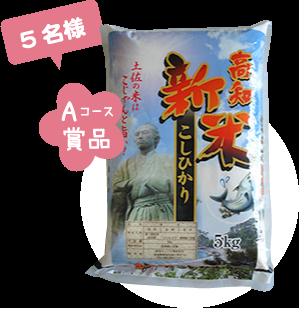 29年産(新米) 高知県産コシヒカリ(5kg)