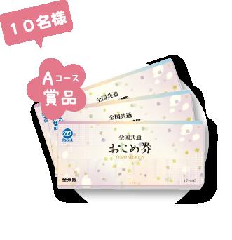 全国共通おこめ券(3枚セット)
