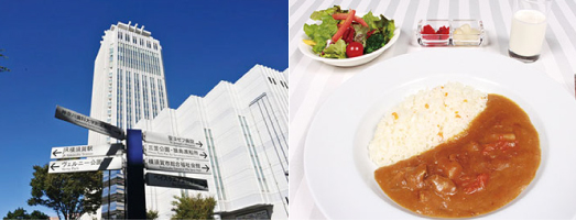メルキュールホテル横須賀ロビーラウンジ「シャンゼリゼ」