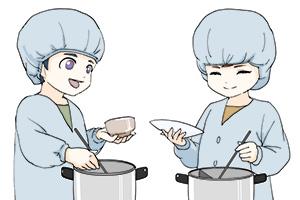 イラスト:学校給食