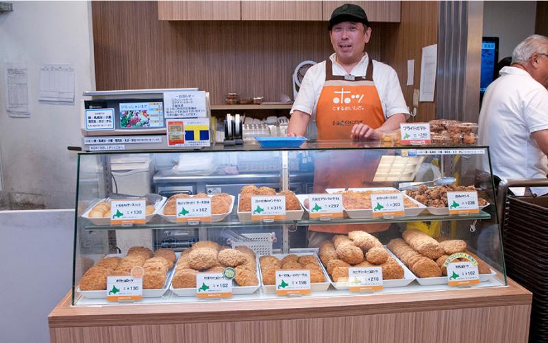 年間5000万円以上の売り上げを誇る惣菜販売コーナー