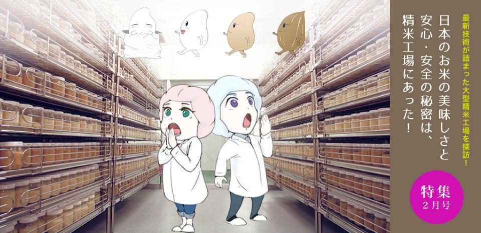 最新技術が詰まった大型精米工場を探訪!